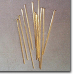1 1/2 Inch Gold Plated Head Pins