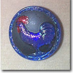 Rooster Hat Pin