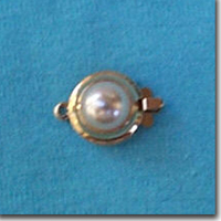 Round Pearl Clasps