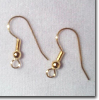 Gold Plate Ear Wires