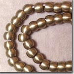 Large Hole Brass Beads